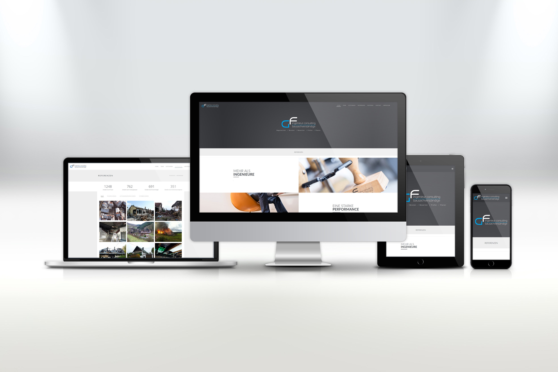Neue Website - Responsive