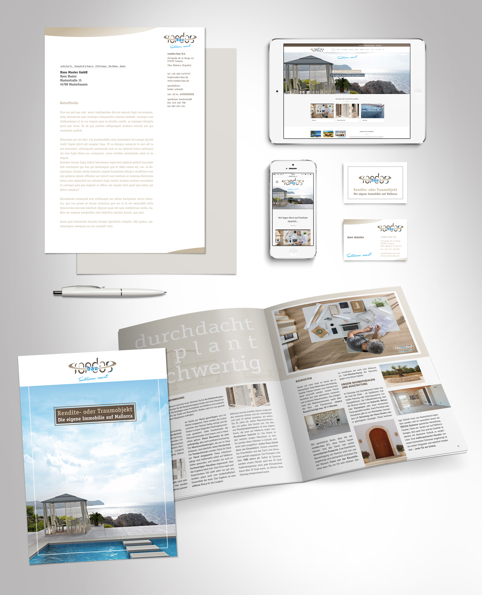 rondos-bau – Corporate Design