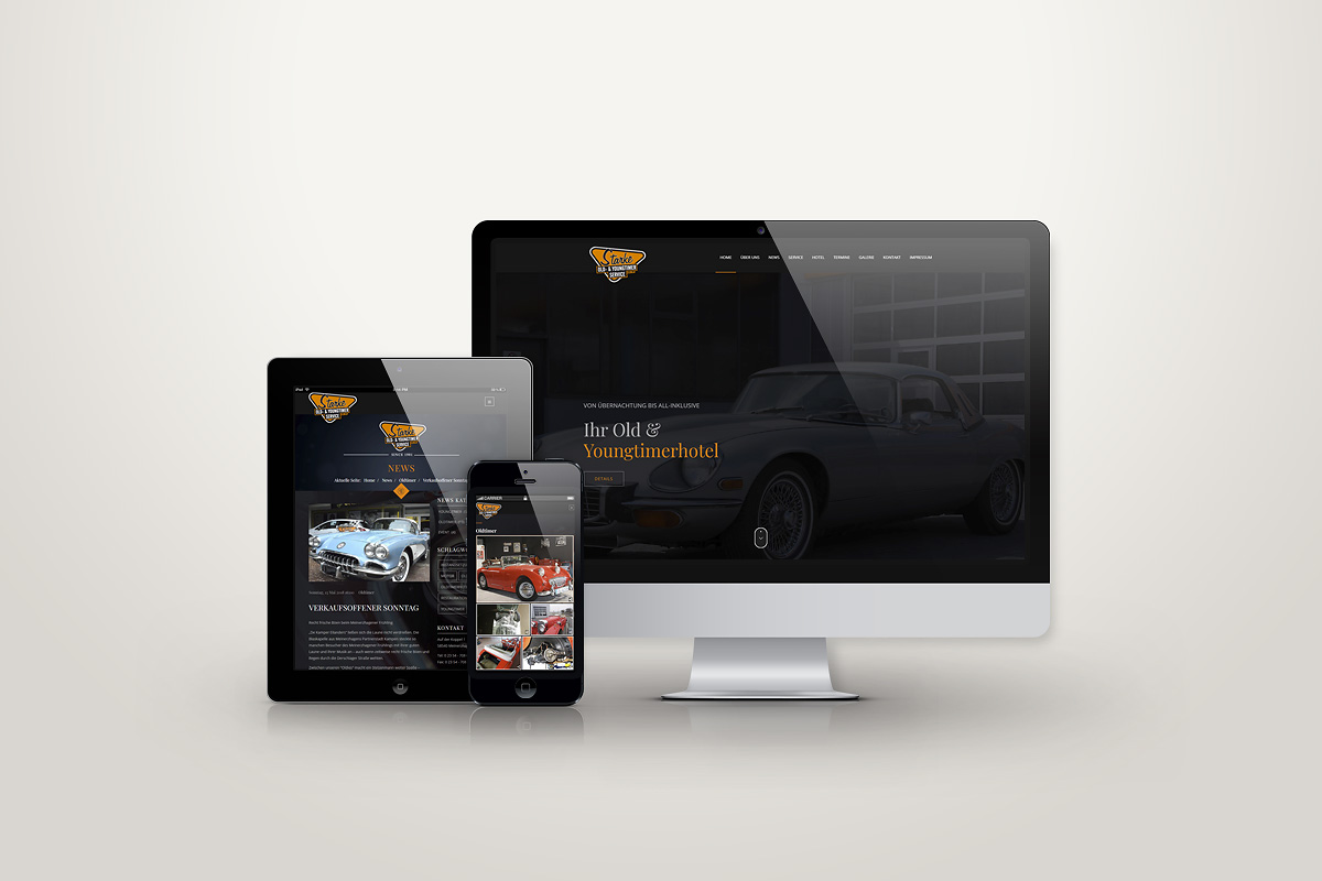 Website Starke Oldies